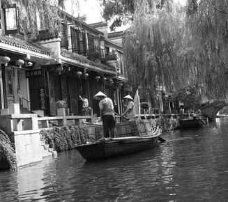Zhouzhuang water town, China