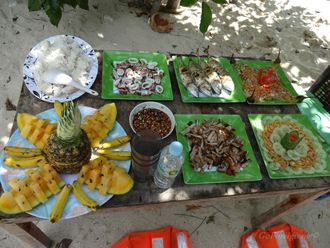 Lunch on Snake Island - Island hopping Tour B
